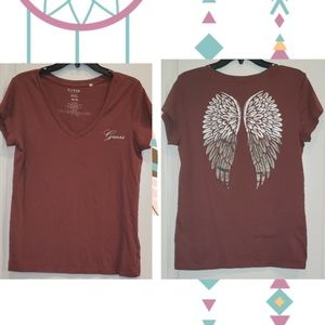 Guess shirt with wings